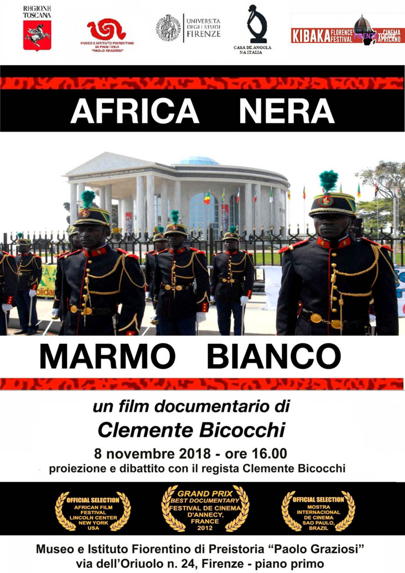 """AFRICA NERA MARMO BIANCO"" - film documentario"